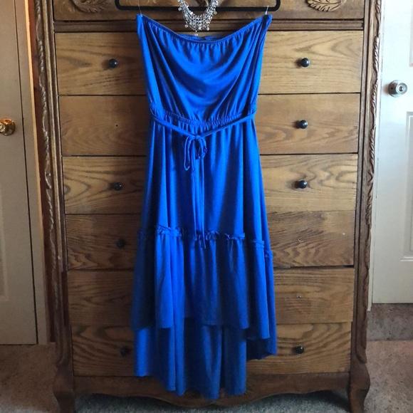 6516d0355bf9a Faded Glory Dresses   Strapless Dress   Poshmark